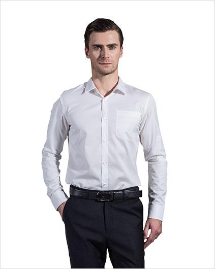 男装长袖衬衣