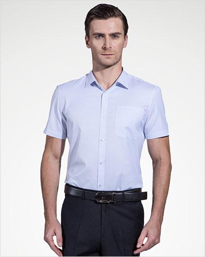 男装短袖衬衣