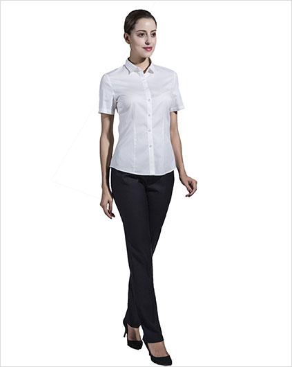 女装短袖衬衣