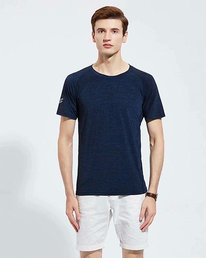 深蓝色广告衫